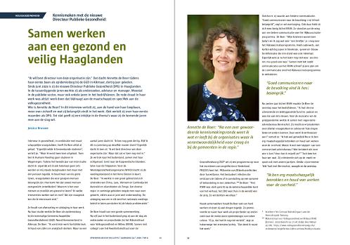 Samen werken aan een gezond en veilig Haaglanden